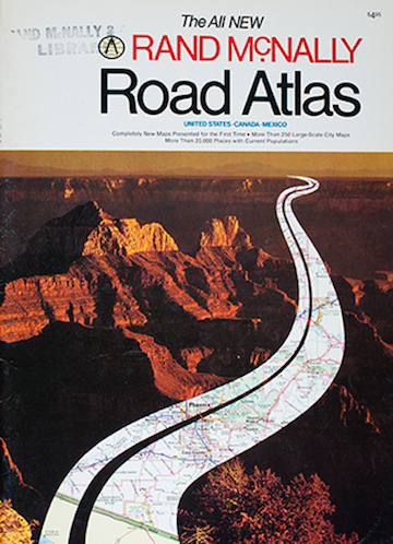 Rand McNally's 1980 Road Atlas. The Navigator's nirvana.