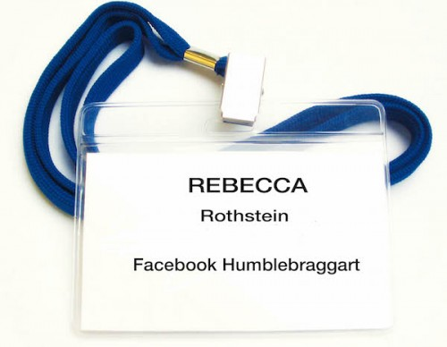 Badge 4 -- Facebook Humblebraggart