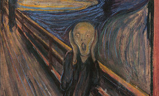 Edvard Munch--The Scream (1893)