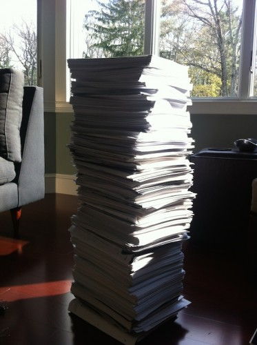 "My notes for *Trembling Earth""--a.k.a. The Tower of Knowledge"