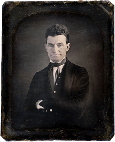 John Brown in 1846-47, daguerreotype by Augustus Washington