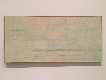 McArthur Binion, *Circuit Landscape No. II* (1973)
