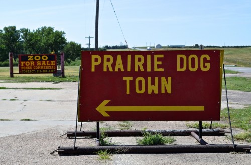 I made a nostalgic stop at Prairie Dog Town on Day 4 of my trip, on my drive from Wichita, Kansas to Denver. I did not buy a plastic wallet.
