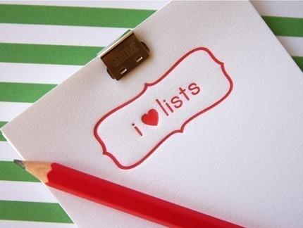 i-love-lists