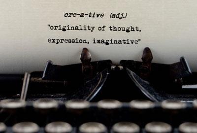 In writing, how do I describe creatively?